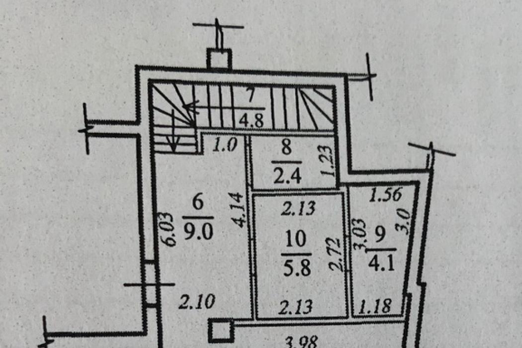 Продажа. 2-уровневая квартира, после строителей в ЖК Амфитеатр, ул. Вернадского 35Т - Фото 6