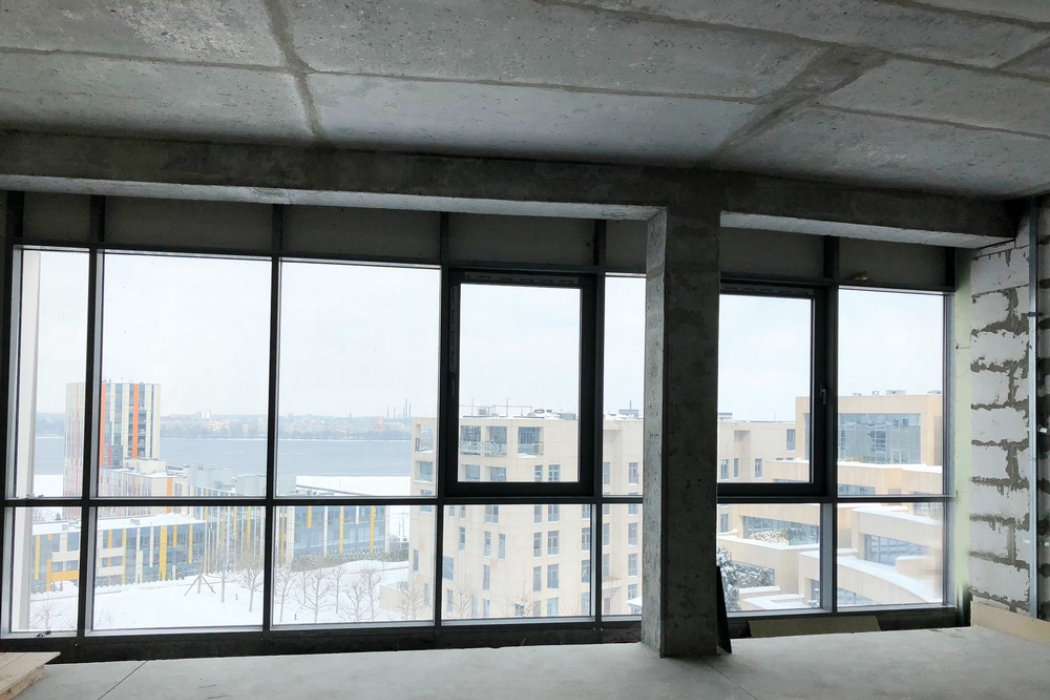 Продажа. 2-уровневая квартира, после строителей в ЖК Амфитеатр, ул. Вернадского 35Т - Фото 2