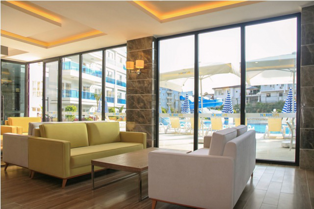 Лот 004. Апартаменты в стильном и современном жилом комплексе в Тосмуре, г.Аланья - Фото 8
