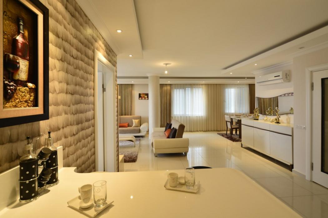 Лот 003. Апартаменты в стильном жилом комплексе у подножия гор Торос, г.Аланья - Фото 9