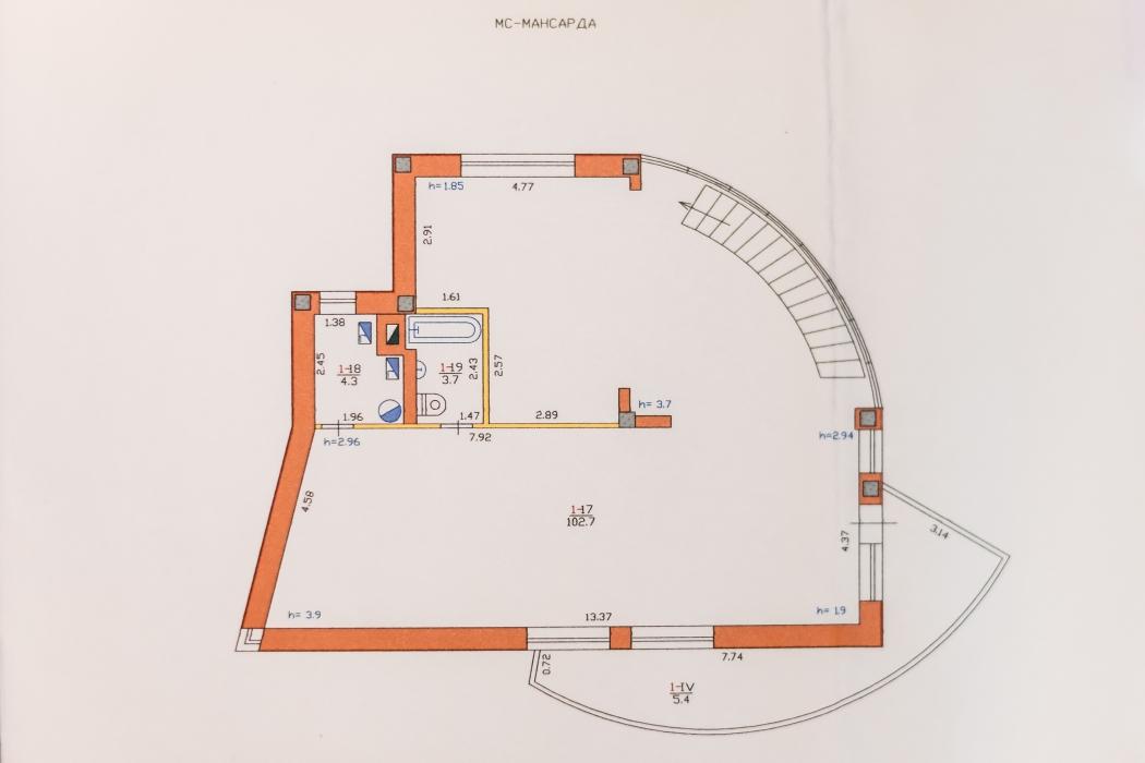Продается элитный 3-этажный дом на берегу р.Самара, г. Новомосковск, ул. Шмидта, 12 - Фото 14
