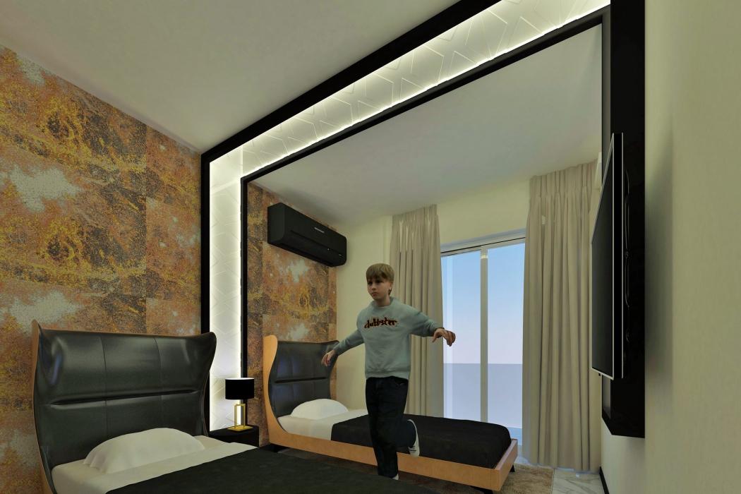 Лот 002. Апартаменты в жилом комплексе класса люкс в Махмутларе, г.Аланья - Фото 10