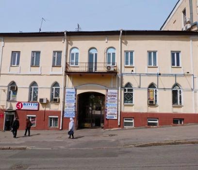 Отдельно стоящее здание в центре Харькова, Бурсацкий спуск, 6