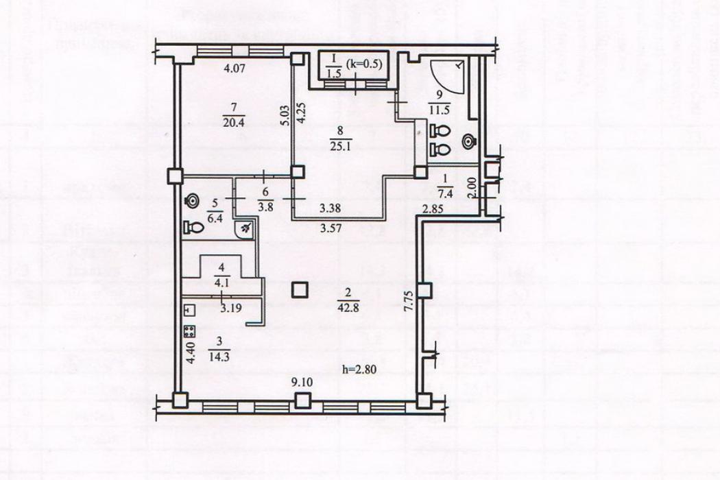 3-ком.квартира в ЖК «Дом Крейнина»,ул. Рогалева, 33 - Фото 16