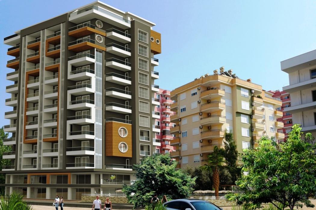 Лот 002. Апартаменты в жилом комплексе класса люкс в Махмутларе, г.Аланья - Фото 1