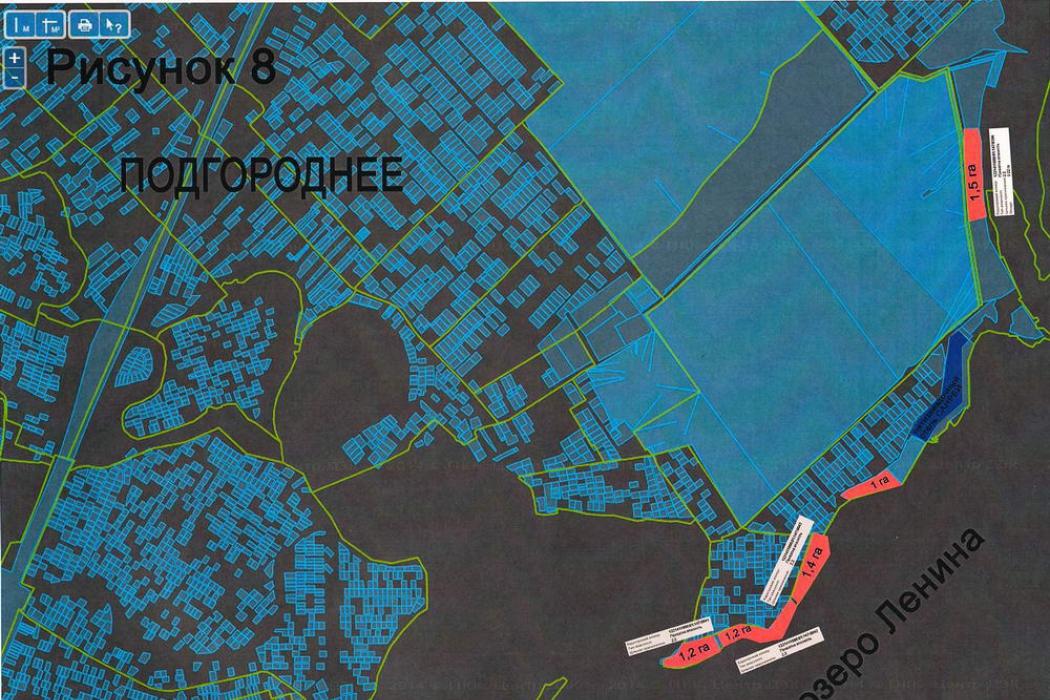 Продается земельный участок 1,28 га Подгородное  - Фото 1