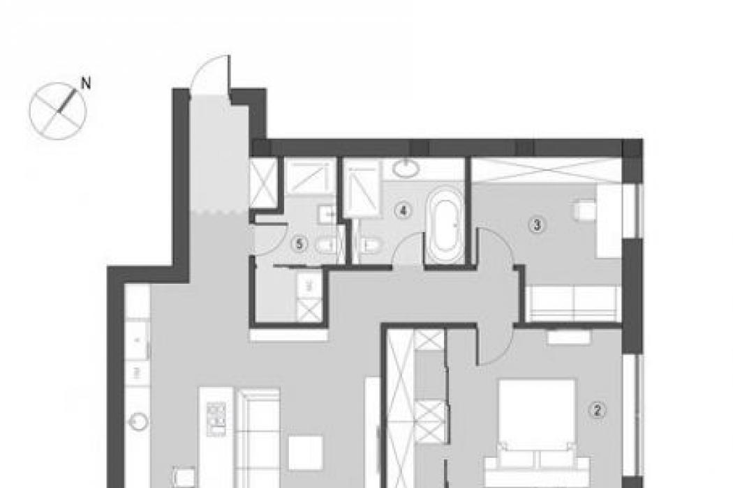Продается 3 комнатная квартира в ЖК Ворошиловский ул. Ворошилова 21К - Фото 6